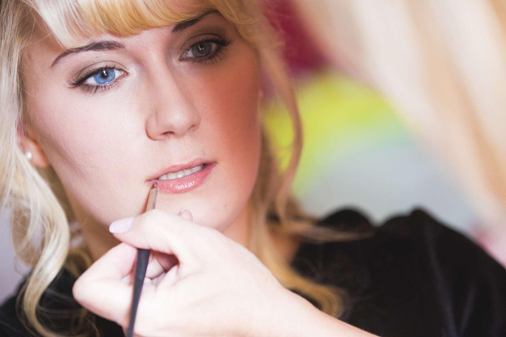 Make-Up reife Frauen